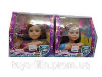 Манекен для причесок детский, голова куклы, с аксессуарами, 3392
