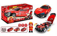 Машина-гараж, в комплекте с маленькими машинками, 660 A-207