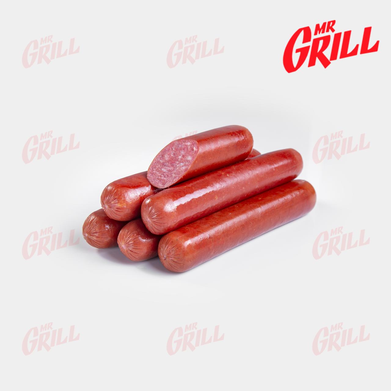 """Колбаски для хот дога полукопченые высшего сорта """"Салями Премиум"""""""