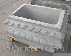 Цветник (клумба, ваза) бетонная с дном К-5
