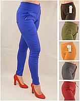 Женские хлопковые ЦВЕТНИЕ брюки от польского производителя одежды 95% хлопк M остались!