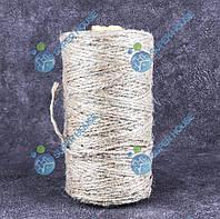 Шпага джутовий льняний 200гр бобіна, фото 1
