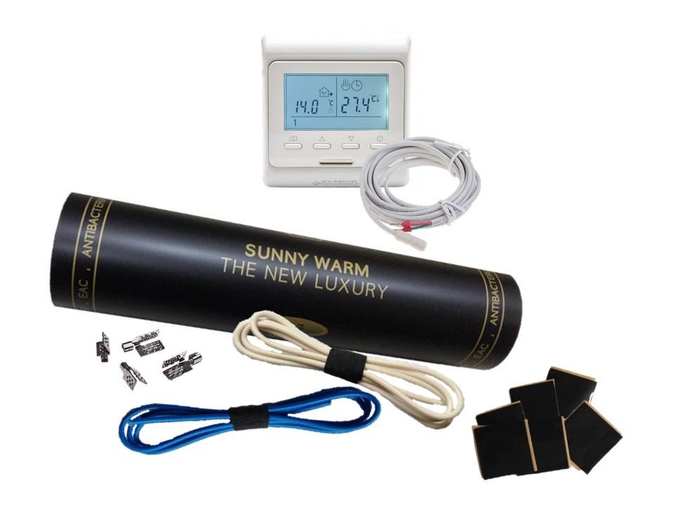 Готовый комплект с програматором Е-51 (7м2) SUNNY WARM ( Премиум)