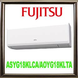 Кондиционер Fujitsu ASYG18KLCA/AOYG18KLTA инверторный, до 50 кв.м., контроль энергозатрат