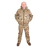 Камуфляжний костюм з капюшоном UkrCamo КК 48р. Мультикам, фото 1