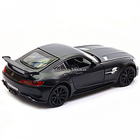 Машинка ігрова Автопром Мерседес (Mercedes-AMG GT-R), 14 см, чорний 7860, фото 4