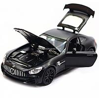 Машинка ігрова Автопром Мерседес (Mercedes-AMG GT-R), 14 см, чорний 7860, фото 6