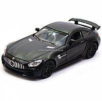 Машинка ігрова Автопром Мерседес (Mercedes-AMG GT-R), 14 см, чорний 7860, фото 7