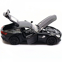 Машинка ігрова Автопром Мерседес (Mercedes-AMG GT-R), 14 см, чорний 7860, фото 8