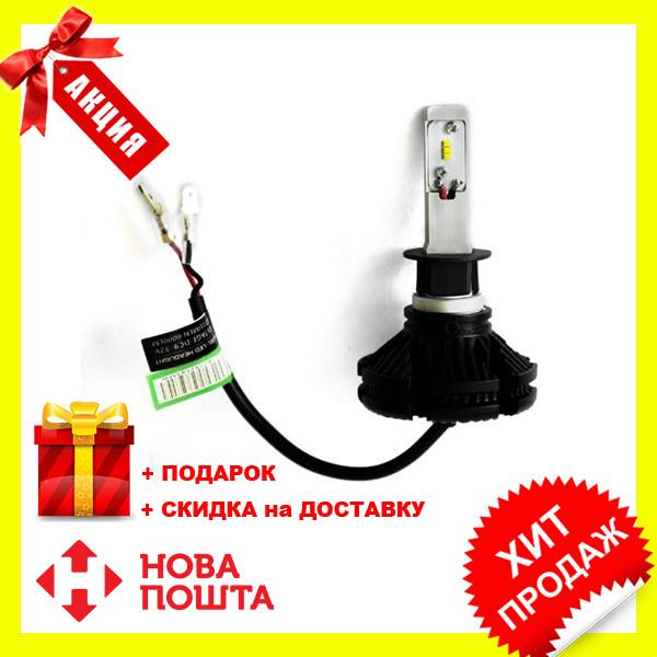 Светодиодные LED лампы F7 H11 для автомобиля   автолампы F7 6500K 9000Lm