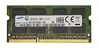 Память Samsung SODIMM DDR3 8GB PC3L-12800S (1600MHz) (M471B1G73EB0-YK0)(8x2) - Б/У