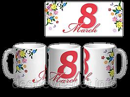 Печать изображений на чашках (Коробочка в подарок)