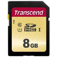 Карта памяти Transcend 8GB SDHC class 10 (TS8GSDC300S)