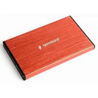 """Карман внешний GEMBIRD 2.5"""" USB3.0 red (EE2-U3S-3-R)"""