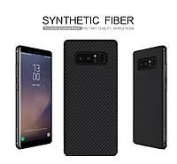 Карбоновая накладка Nillkin Synthetic Fiber series для Samsung Galaxy Note 8