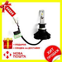 Светодиодные LED лампы X3 H1 для автомобиля | автолампы HEADLIGHT 6000K/6000Lm | автомобильные лед лампы
