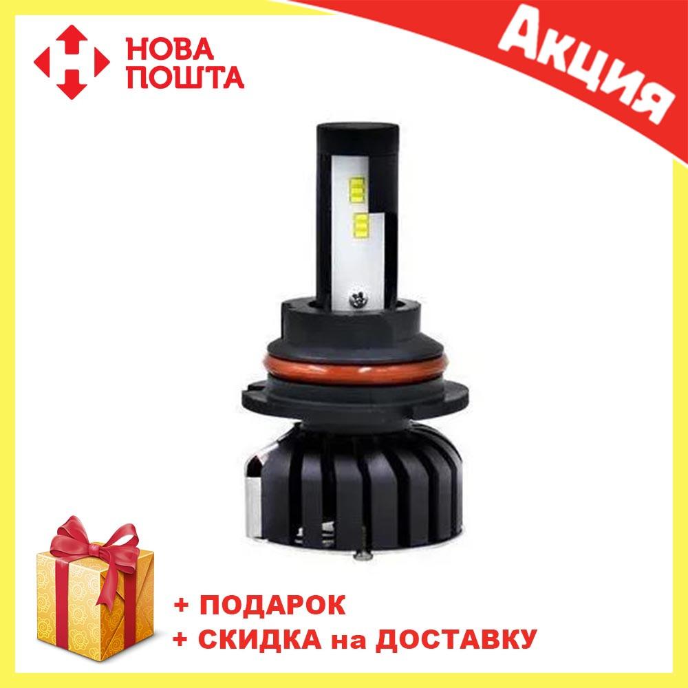 Светодиодные LED лампы F7 H7 для автомобиля   автолампы COB 9000Lm 6500K