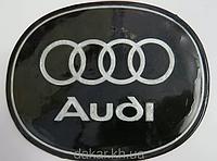 Антискользящий силиконовый коврик на торпедо с логотипом Audi