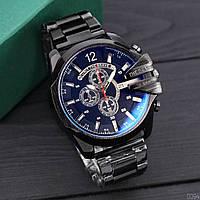 Металлические мужские часы Diesel Brave, чоловічий металевий годинник Дизель