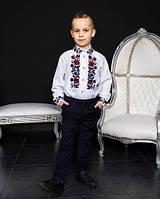 Дитяча вишиванка для хлопчика лляна д/р Юліан