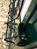 Ограждение оцинкованное сварная сетка с полимерным покрытием  диаметр 3+4 Н-1,26м, фото 2