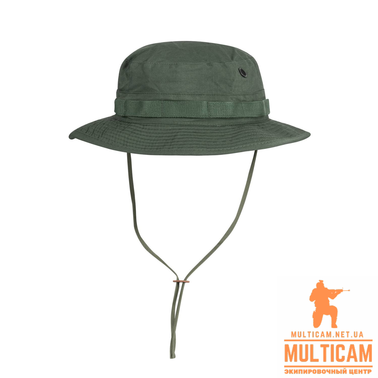 Панама Helikon-Tex® BOONIE Hat - Cotton Ripstop - Olive Green
