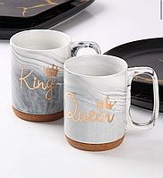 Набор из 2 чашек Король и Королева 320 мл 944-053-054