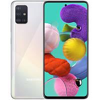 Samsung Galaxy A51 4/64Gb (A515/DS) UA-UCRF 12 мес White, фото 1