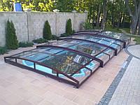 """Павильон для бассейна Nimbus """"Caliber"""" с прозрачными торцевыми и боковыми стенками!"""