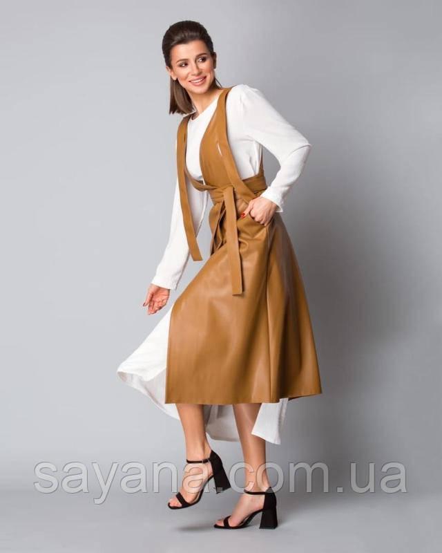 женский стильный сарафан