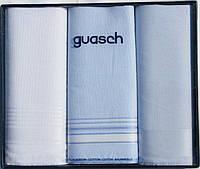 Комплект мужских носовых платков Guasch Sena 90-06 1101, КОД: 1371629
