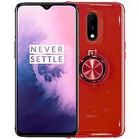 Силиконовый чехол C-KU SM01 для смартфона OnePlus 7 Red 3888-10755, КОД: 1393986
