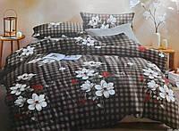 Постіль сатинова,,, 3Д постіль,, євро розмер постель.,,комплект постільної білизни