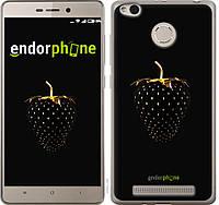 Пластиковый чехол Endorphone на Xiaomi Redmi 3s Черная клубника 3585m-357-26985, КОД: 1390353