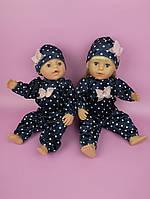 Одежда для пупса Baby Born - Комбинезон бархатный синий