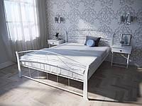 Кровать MELBI Селена Вуд Двуспальная 140200 см Белый КМ-008-02-8бел, КОД: 1452793