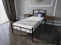 Кровать MELBI Патриция Односпальная 90200 см Бордовый лак КМ-002-01-2бор, КОД: 1421863