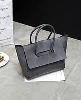 Женская сумка AL-3576-77 Серая, КОД: 1493405