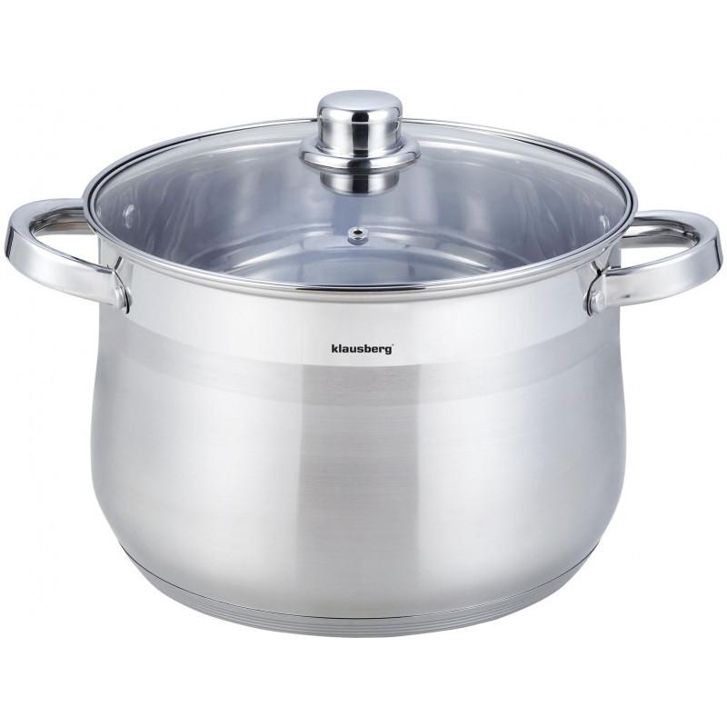 Кастрюля stock pot Klausberg объем 22,4л, KB-7168