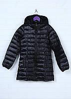 Детская демисезонная куртка D-Xel для девочки 134-140 см 10 лет Черная 8170116-10, КОД: 1452475