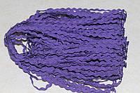 Тесьма зиг-заг фиолетовая 818, фото 1