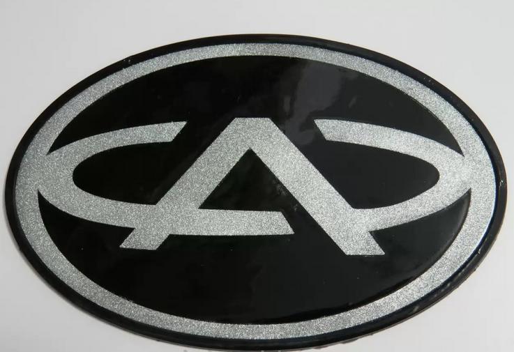 Антискользящий силиконовый коврик на торпедо с логотипом Chery