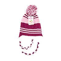 Шапка Suve 3-6 лет Бордовый TUR 40122 pink-d-pink, КОД: 1469461