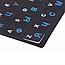 Наклейки буквы на клавиатуру Русский   Английский 11 x 13 мм Черный   синие русские буквы gabkrp4, КОД: 916370, фото 3
