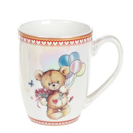 """Чашка фарфоровая 340мл """"Ми-ми мишки"""" в коробке """"BonaDi"""", 588-155, фото 2"""