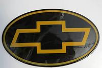 Антискользящий силиконовый коврик на торпедо с логотипом Chevrolet