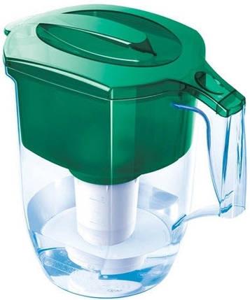 Фільтр-глечик для води Аквафор Океан зелений 3,9 л, Б5236, фото 2