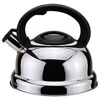 Чайник для плиты CON BRIO СВ0406 3 л Нержавеющая сталь 34-44296, КОД: 911982