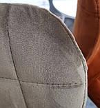 Полубарный стул B-22 капучино велюр Vetro Mebel (бесплатная доставка), фото 6