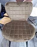 Полубарный стул B-22 капучино велюр Vetro Mebel (бесплатная доставка), фото 5